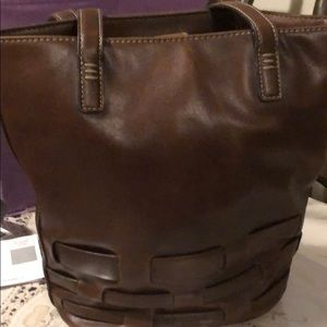 Used leather bag by Nine West